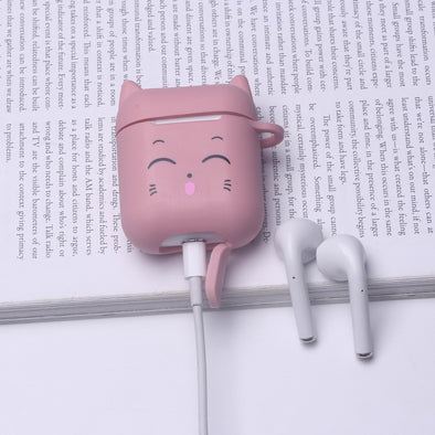 Pink Cat Airpods Case🎀