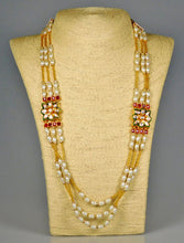 Load image into Gallery viewer, Necklace: Pearls & Stones