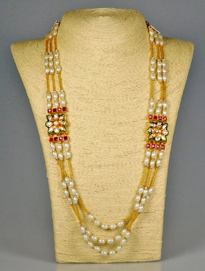 Necklace: Pearls & Stones