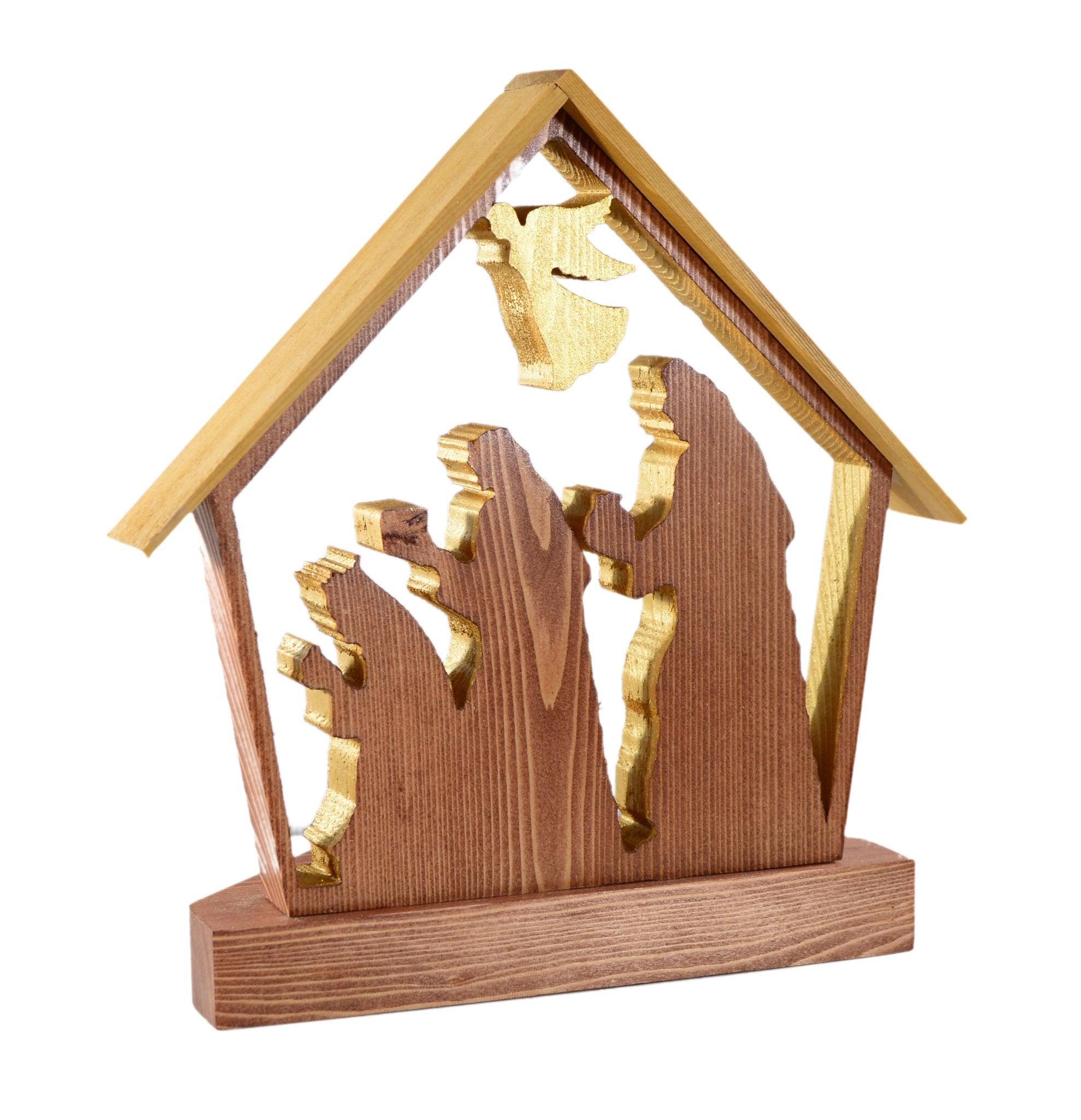 SHEPARD AND ANGLES LED CANDLES SET OF 3 WISEMEN 6 Hour Timer NATIVITY SCENE
