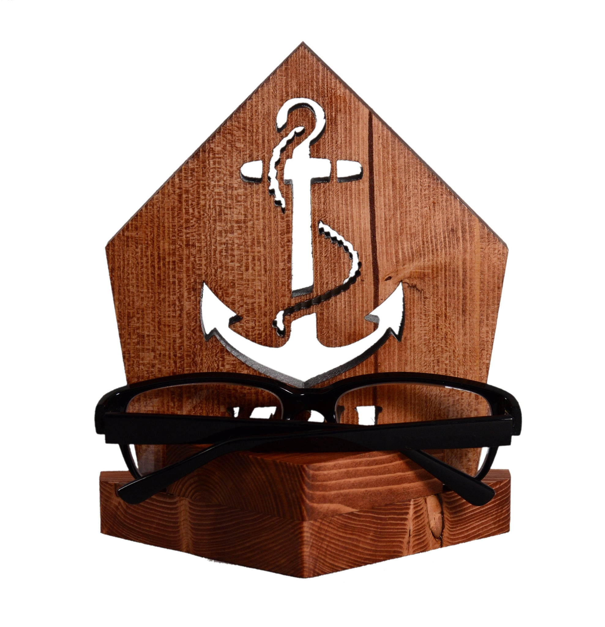 NAVY Anchor Insignia Desk Set • Personalized Gift for Veteran Sailor