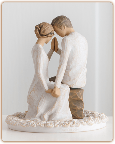 willow tree, willow, tree, around, you, cake, topper, wedding