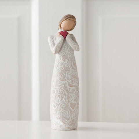 willow tree, willow, tree, figurine, i love you, love, je t'aime