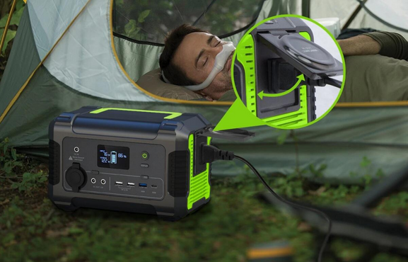 How To Run Your CPAP While Camping