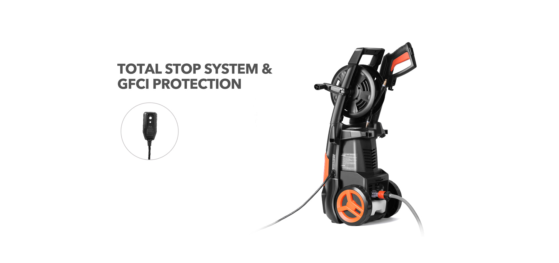 Pressure Washer Safety Automatic Total Stop System