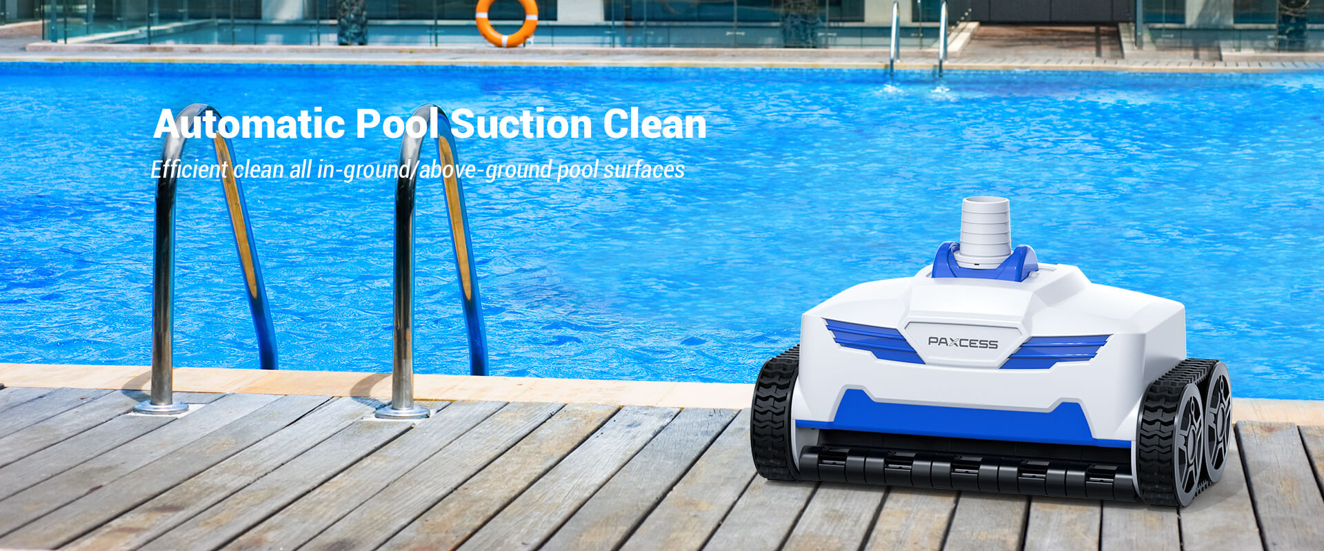 PAXCESS Automatic Pool Suction Cleaner 1