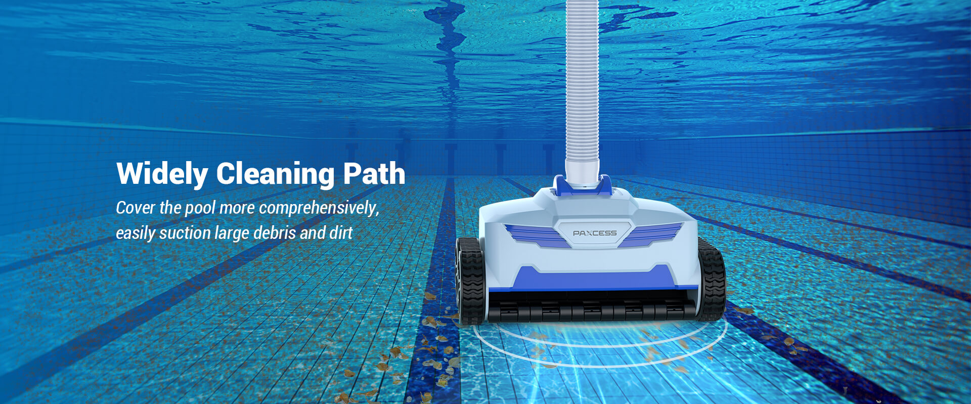 PAXCESS Automatic Pool Suction Cleaner (2)