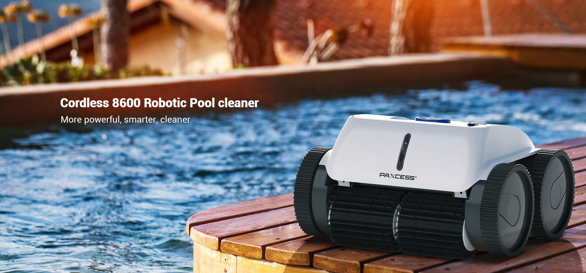PAXCESS Cordless 8600 Robotic Pool Cleaner (1)