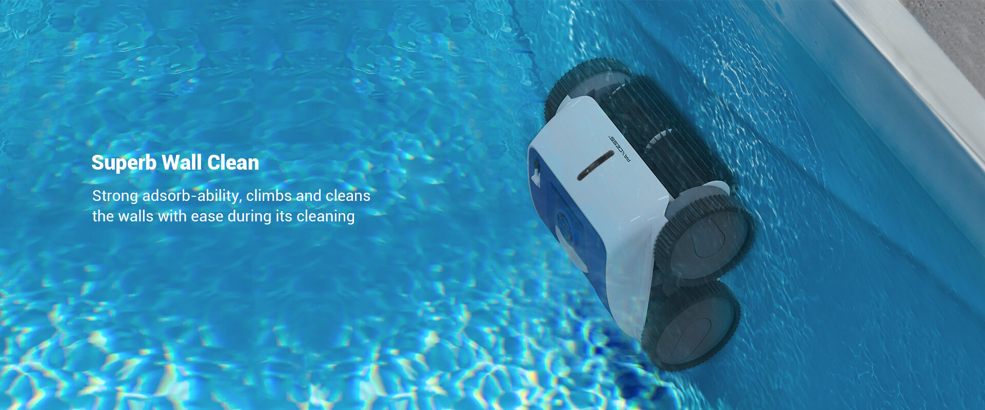 PAXCESS Cordless 8600 Robotic Pool Cleaner (2)