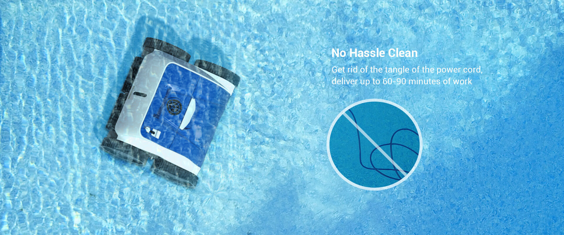 PAXCESS Cordless 8600 Robotic Pool Cleaner (4)