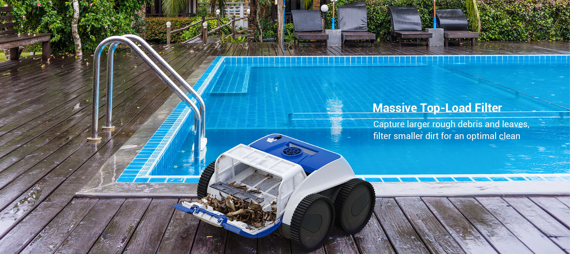PAXCESS Cordless 8600 Robotic Pool Cleaner (5)