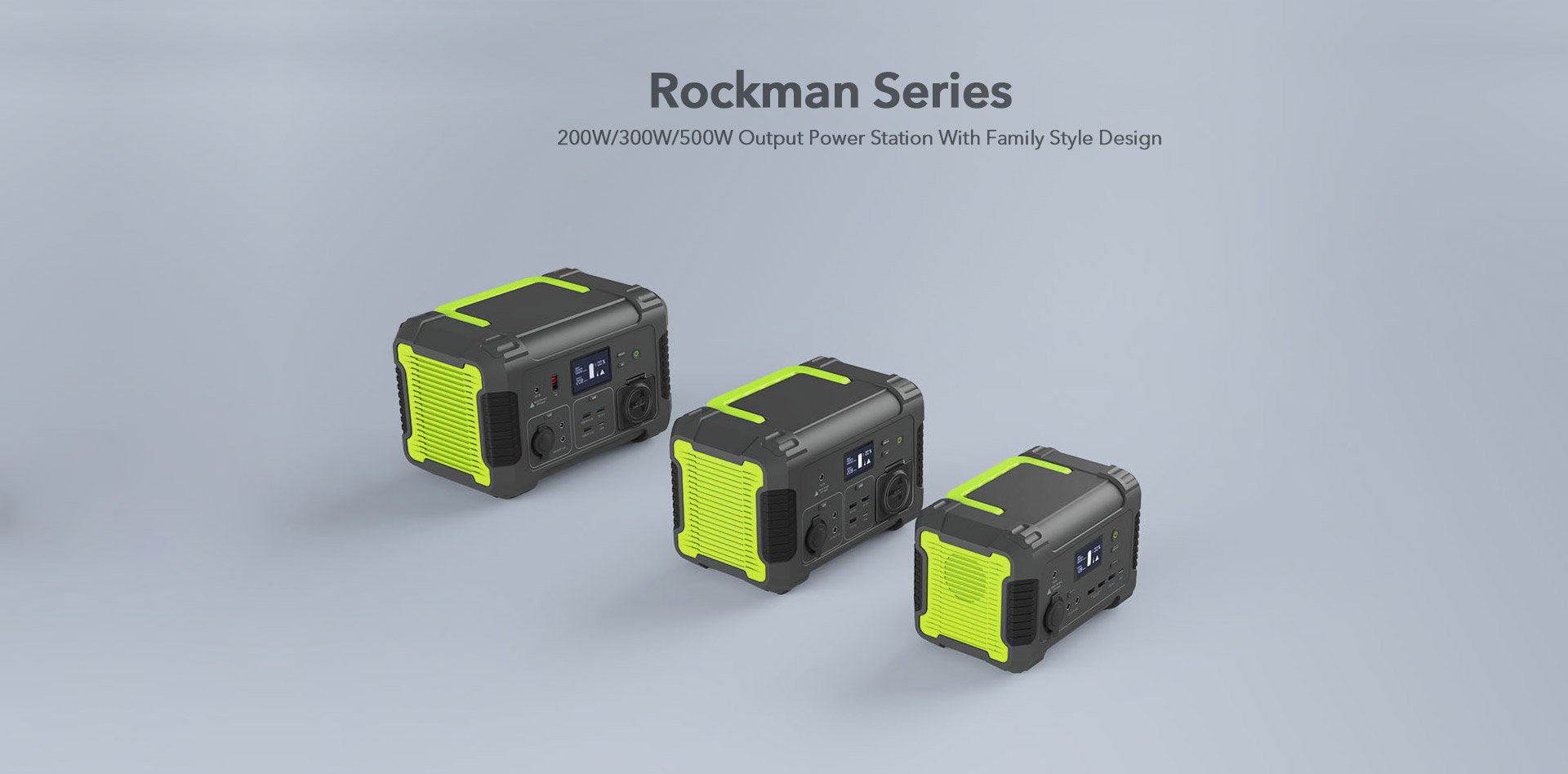 Rockman series-500w power station