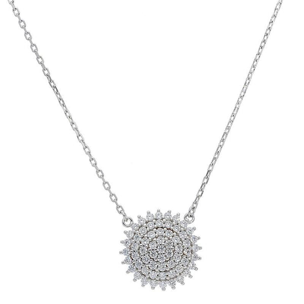 Italian Silver 925 Star Necklace - FKJNKL1950