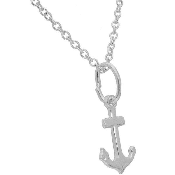 Italian Silver 925 Necklace (Chain with Anchor Pendant) - FKJNKLSL2001