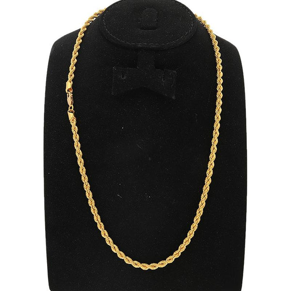 Gold Rope Chain 22KT - FKJCN22K2125