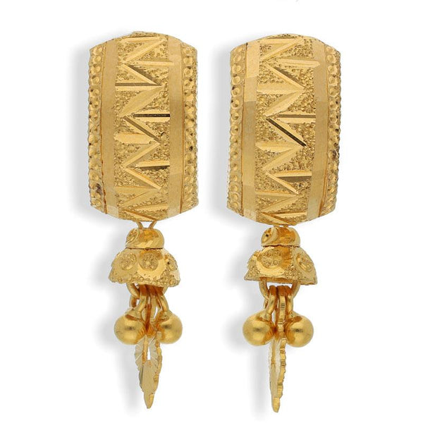 Gold Earrings 22KT - FKJERN22K2130