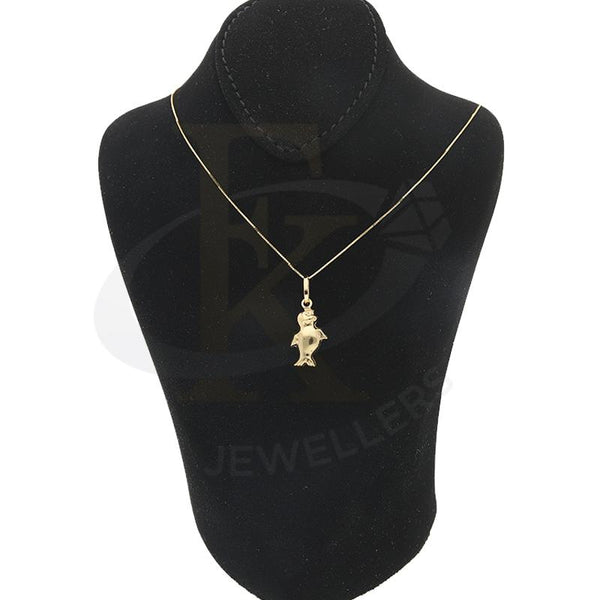 Gold Necklace (Chain with Penguin Pendant) 18KT - FKJNKL18K2284
