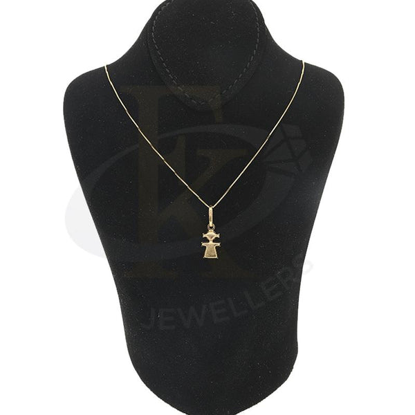 Gold Necklace (Chain with Pendant) 18KT - FKJNKL18K2289