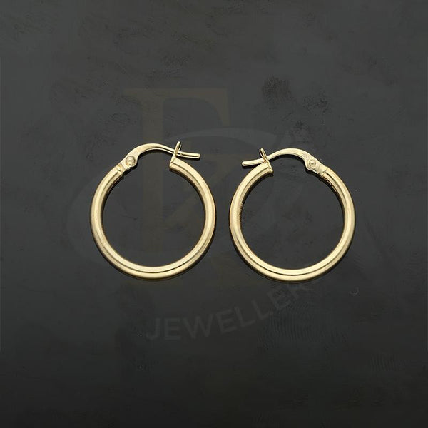 Gold Hoop Earrings 18KT - FKJERN18K2245
