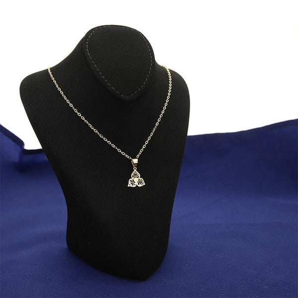 Gold Necklace (Chain with Pendant) 18KT - FKJNKL18K2376