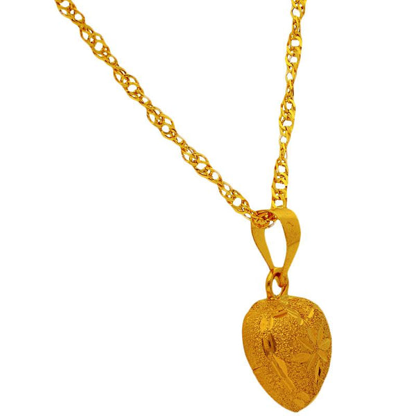 Gold Necklace (Chain with Pendant) 18KT - FKJNKL1709