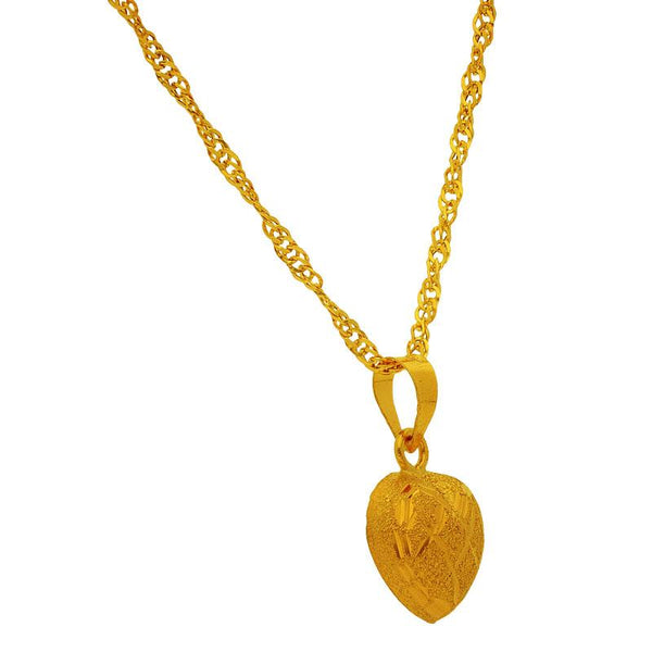 Gold Necklace (Chain with Pendant) 18KT - FKJNKL1724