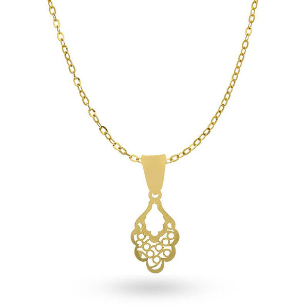 Gold Necklace (Chain with Pendant) 18KT - FKJNKL18K2047