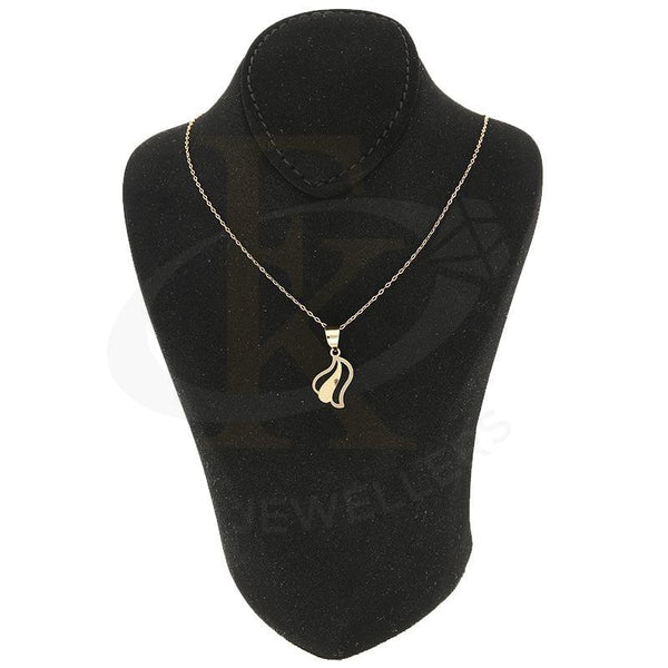 Gold Necklace (Chain With Pendant) 18Kt - Fkjnkl18K2336 Necklaces