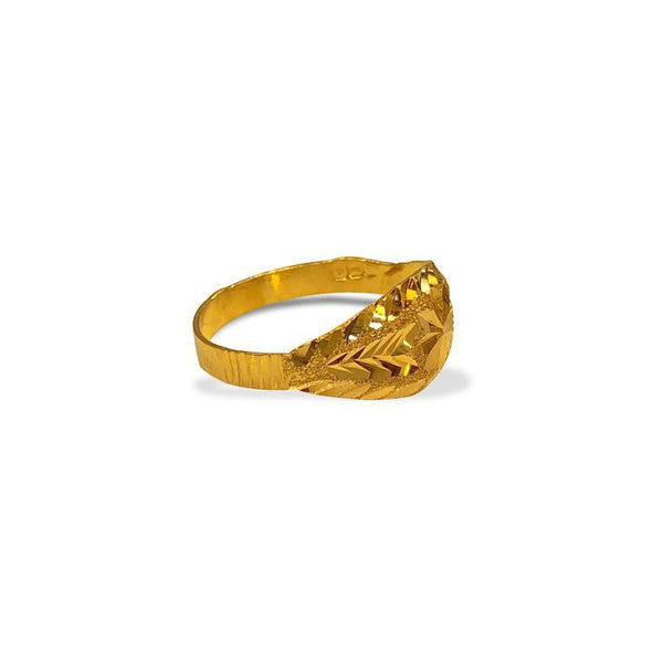 Gold Star Ring 22KT - FKJRN1303-fkjewellers