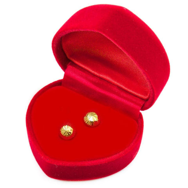Gold Stud Earrings 18KT - FKJERN1402-fkjewellers