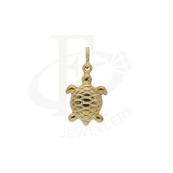 Gold Turtle Shaped Pendant 18Kt - Fkjpnd18K2248 Pendants