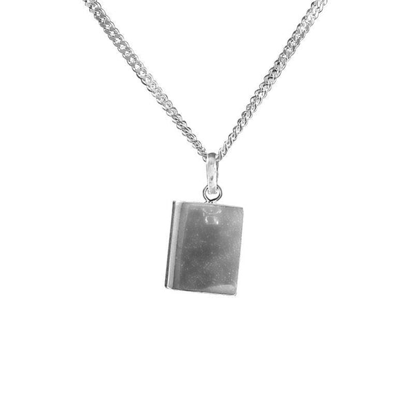 Italian Silver 925 Necklace (Chain with Amulet Pendant) - FKJNKL1711-fkjewellers