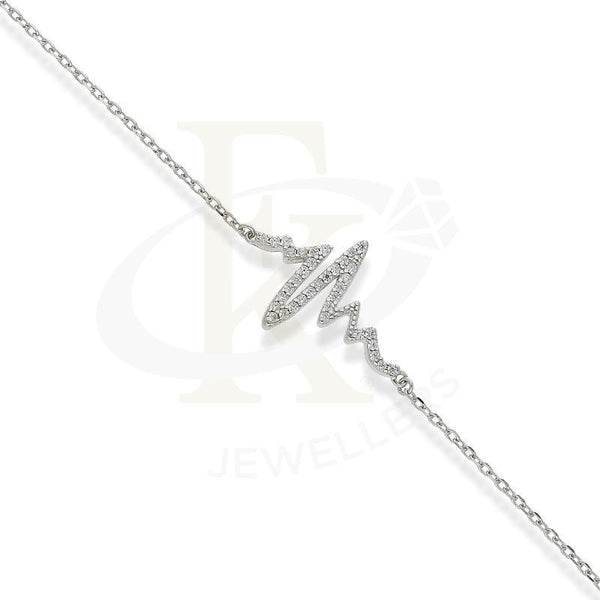 Italian Silver 925 Pendant Set (Necklace Earrings And Bracelet) - Fkjnklstsl2173 Sets