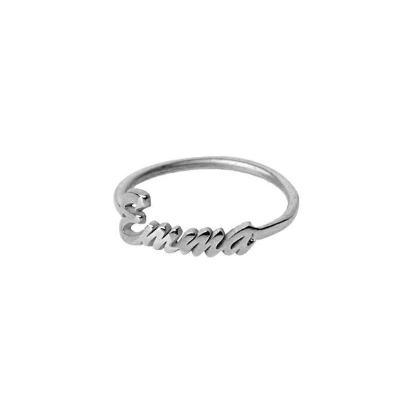 Silver 925 Name Ring - FKJRN2058