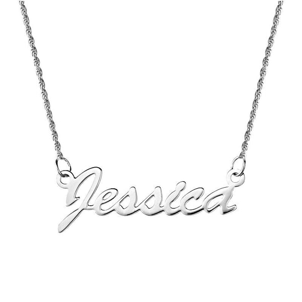 Silver 925 Name Necklace - FKJNKL1915