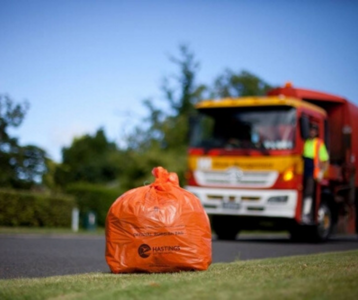HDC Kerbside recycling collection suspended