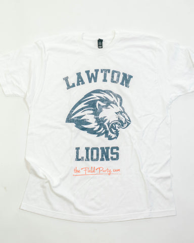 Lawton Lions Men's Cut SS