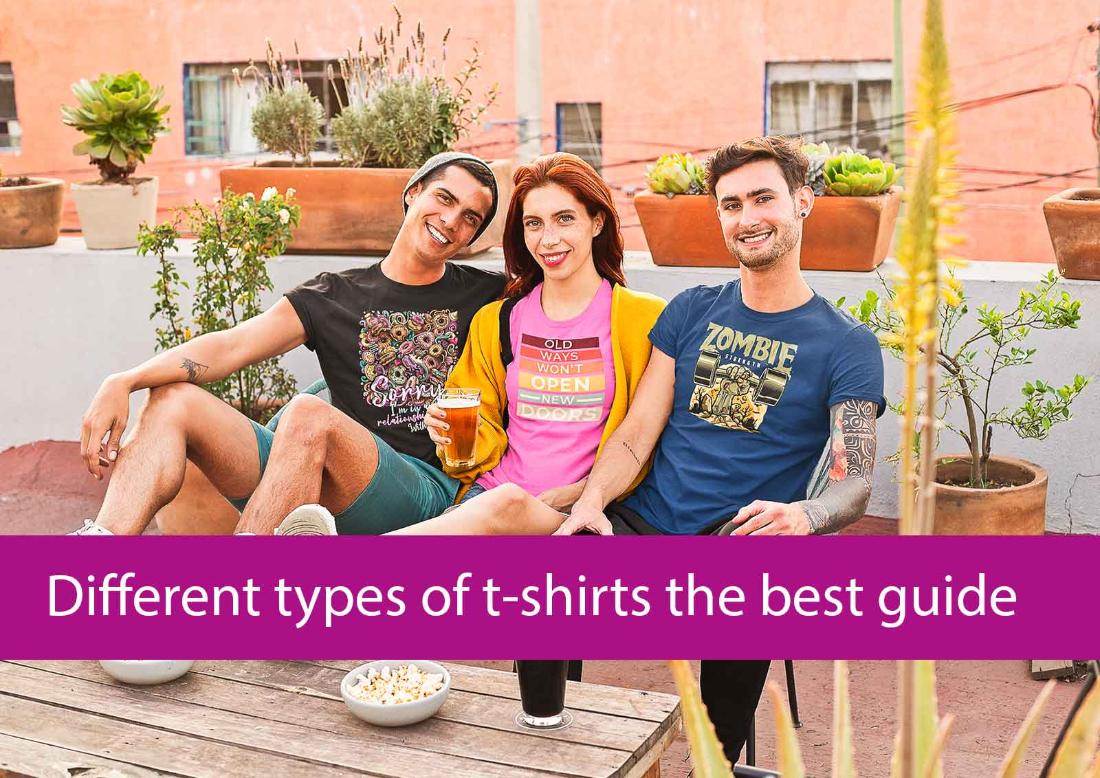 different types of t-shirts