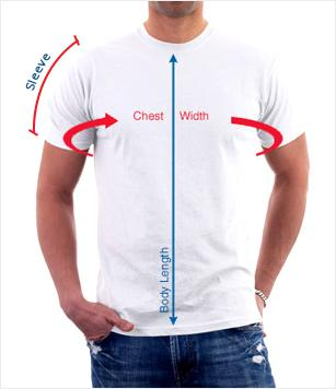 Men Round Neck Size Guide