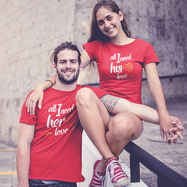 couple tshirts-Leoliy
