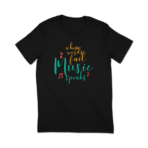T shirts about music Leoliy