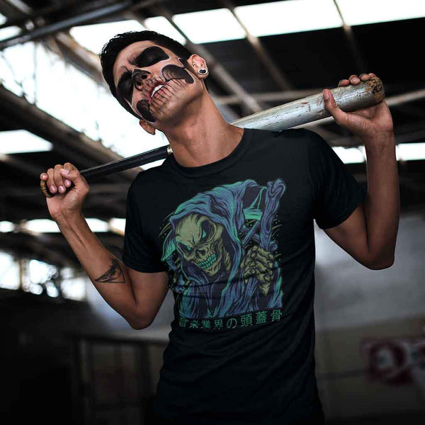 Skull : Best t shirt brands India T Shirt Leoliy