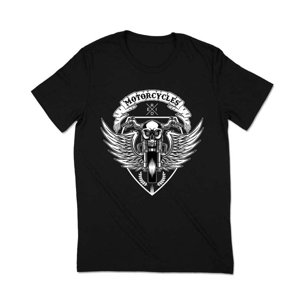 Biker T-shirts india T Shirt Leoliy S Black