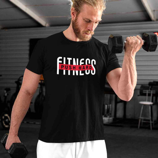 Gym T shirts Men T Shirt Leoliy