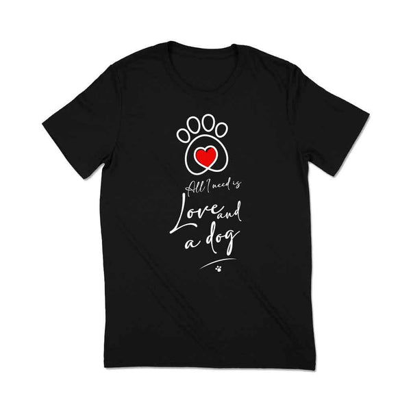 Dog lover t-shirts india T Shirt Leoliy S Black