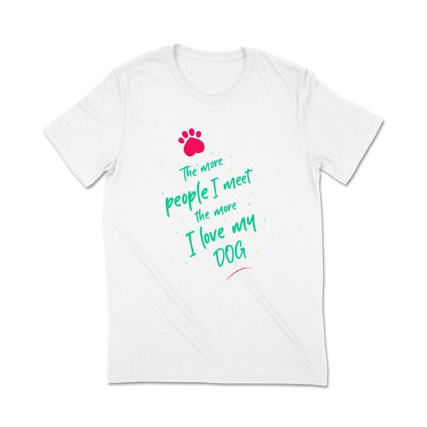 Dog owner t shirts T Shirt Leoliy S White
