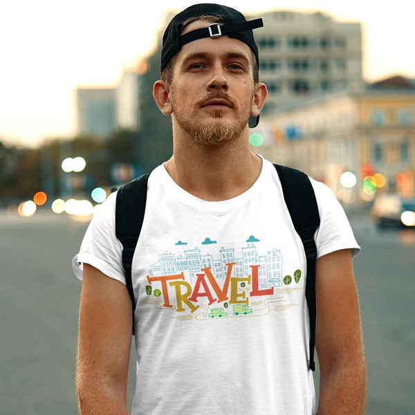 Travel t shirt India T Shirt Leoliy