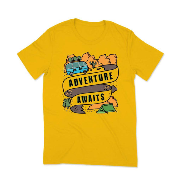 Travel hashtags t shirt T Shirt Leoliy S Yellow