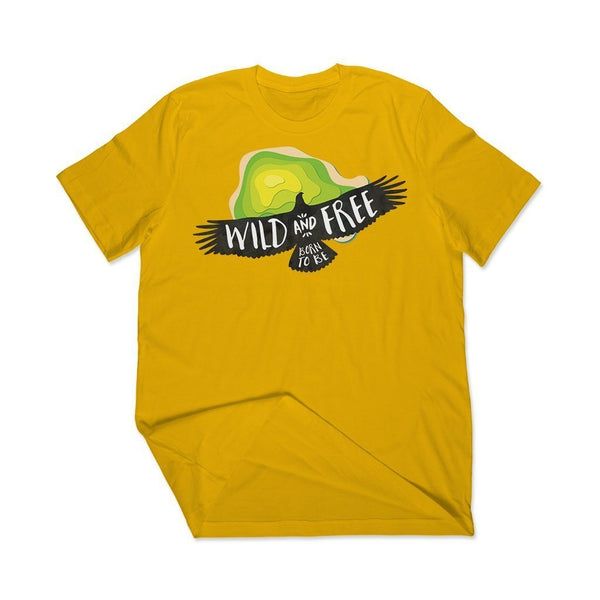 T shirt Custom India : Wild T Shirt Leoliy S Yellow