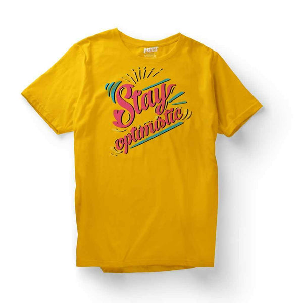 Women's Clothing Tops : Optimistic T Shirt Leoliy S Yellow